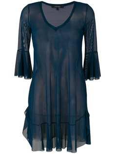 Fisico прозрачное пляжное платье