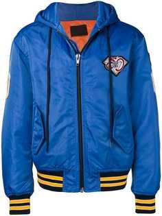Alexander Wang куртка-бомбер с заплатками