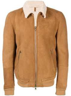 Mauro Grifoni куртка с подкладкой из овечьей шерсти