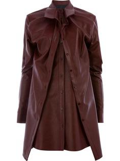 Y / Project многослойное платье с поясом