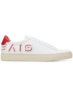 Givenchy кроссовки с логотипом в зеркальном отражении