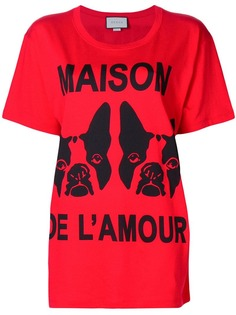 Gucci футболка Maison de lAmour