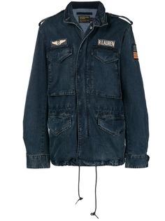 Polo Ralph Lauren джинсовая куртка с воротником-стойкой