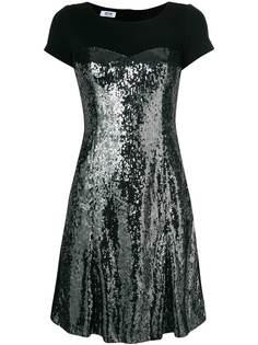 Moschino Vintage платье с пайетками