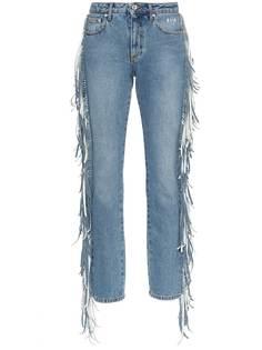 173cfbd07c2 710 предложений - Купить женские джинсы с бахромой в интернет ...