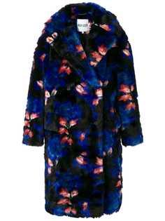 Kenzo oversized floral coat