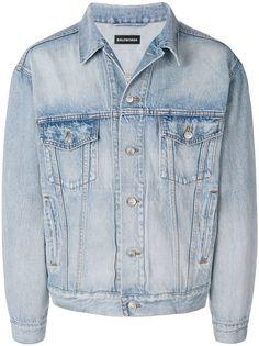 Мужские джинсовые куртки Balenciaga