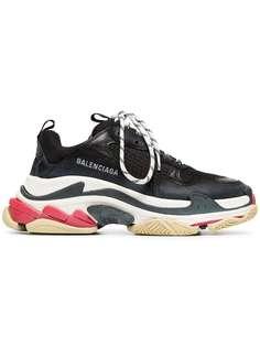 Balenciaga кроссовки Triple S на массивной подошве