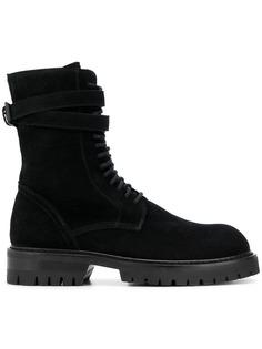 Ann Demeulemeester ботинки по щиколотку на шнуровке