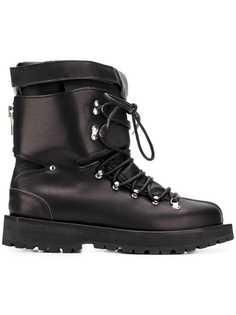 Sacai лыжные ботинки на шнуровке