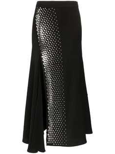Ellery асимметричная юбка с заклепками