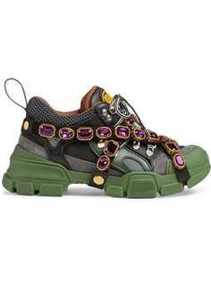 Gucci кроссовки Flashtrek со съемными ремешками
