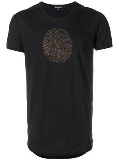 Ann Demeulemeester футболка с круглым вырезом и принтом