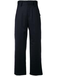 Comme Des Garçons Noir Kei Ninomiya брюки прямого кроя с завышенной талией