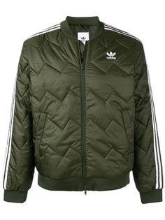 Adidas стеганая куртка бомбер