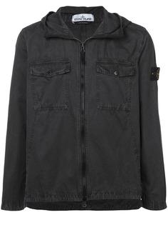 Stone Island куртка-рубашка 111WN T.CO+Old