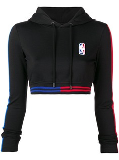 Marcelo Burlon County Of Milan укороченное худи MARCELO BURLON COUNTY OF MILAN X NBA