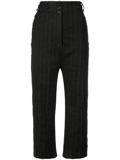 Ann Demeulemeester брюки с заниженным шаговым швом