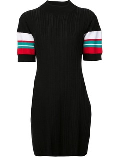 Proenza Schouler ребристое платье в полоску