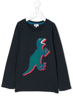 Paul Smith Junior топ с принтом динозавра