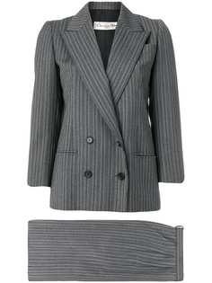 Christian Dior Vintage костюм с юбкой в полоску
