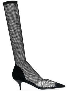 Stella McCartney fishnet sock pumps