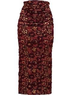 Miu Miu юбка Cloqué