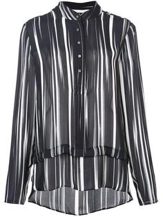 Nicole Miller блузка в полоску
