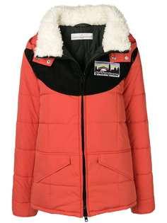 Golden Goose Deluxe Brand утепленная куртка с капюшоном