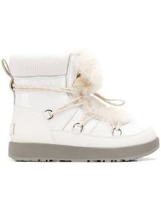 Ugg Australia ботинки с мехом на шнуровке