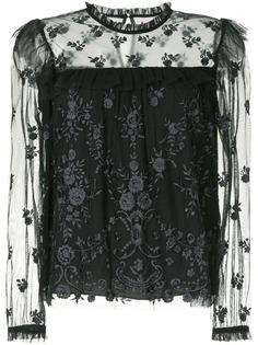 Needle & Thread платье с длинным рукавами