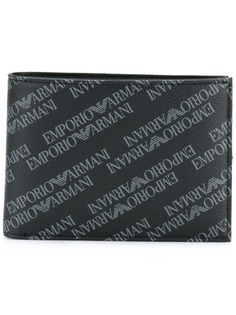Emporio Armani кошелек с принтом логотипа