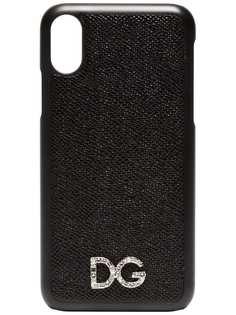 Dolce & Gabbana текстурный чехол для Iphone X