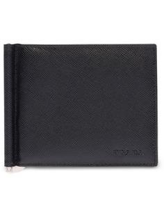 Prada кошелек в два сложения