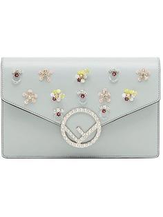 Fendi embellished logo mini bag