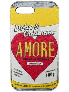 Dolce & Gabbana чехол для iPhone 7 Plus Amore