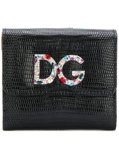 Dolce & Gabbana кошелек с бляшкой с логотипом