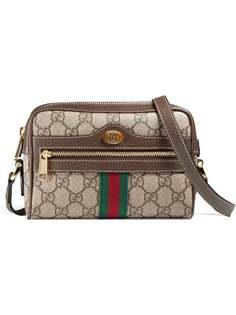 Gucci мини-сумка Ophidia с узором GG Supreme