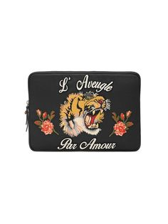 Gucci LAveugle Par Amour laptop case