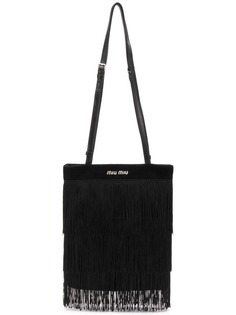 Miu Miu сумка на плечо с бахромой