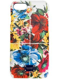 Dolce & Gabbana чехол для iPhone 7 с цветочным принтом
