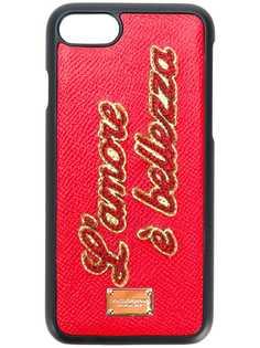 Dolce & Gabbana чехол для iPhone 7 LAmore È Bellezza