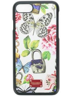 Dolce & Gabbana чехол для iPhone 7 с принтом