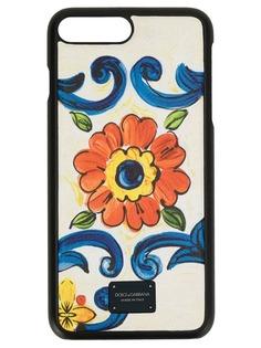 Dolce & Gabbana чехол для iPhone с цветочным принтом