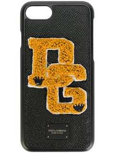 Dolce & Gabbana чехол для iPhone 7 с заплаткой логотипа