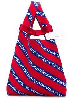 Alexander Wang сумка-тоут жаккардовой вязки с логотипами