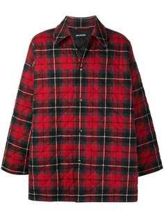 Balenciaga дутая куртка-рубашка