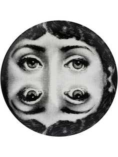 Fornasetti тарелка mirror cameo