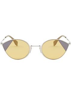 Fendi солнцезащитные очки кошачий глаз