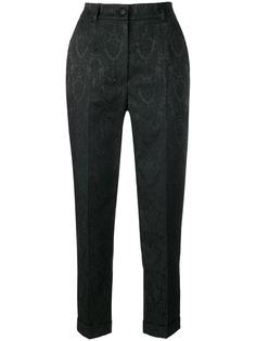 Dolce & Gabbana укороченные жаккардовые брюки
